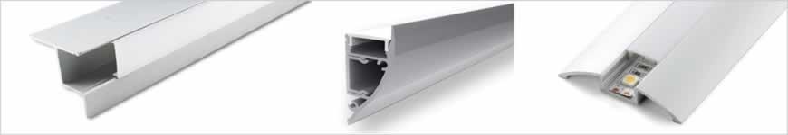 LED aluminium profielen systeemplafond, vloer